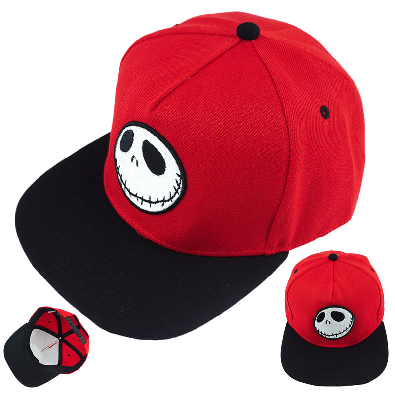378daf32d7f The Nightmare Before Christmas Jack Hat Cotton Baseball Snapback Caps  Adjustable Hip Hop Hats For Adult Boys Girl Cosplay Gift-in Boys Costume  Accessories ...