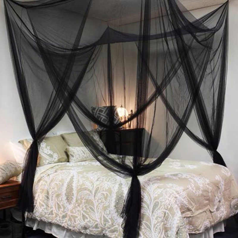Black /White  Door Canopy Mosquito Net Fabric Mesh  Insect Shelterd girls Room Princess Bed Decor Tent Protection Children WZ102