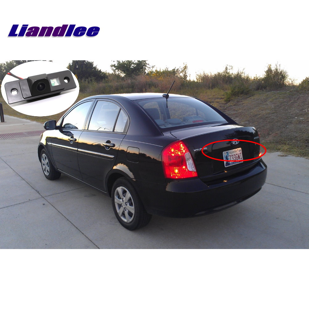 Liandlee For Hyundai Accent Era Vision Web II (hatchback) 2005~2011 Car  Rear View Backup Parking Camera / Reverse Camera -in Vehicle Camera from  Automobiles ...