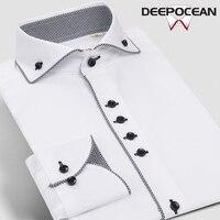 Fashion New Mens Shirt Cotton Shirt Dress Business Plaid Shirts Men Casual Shirt Camisa De Hombre