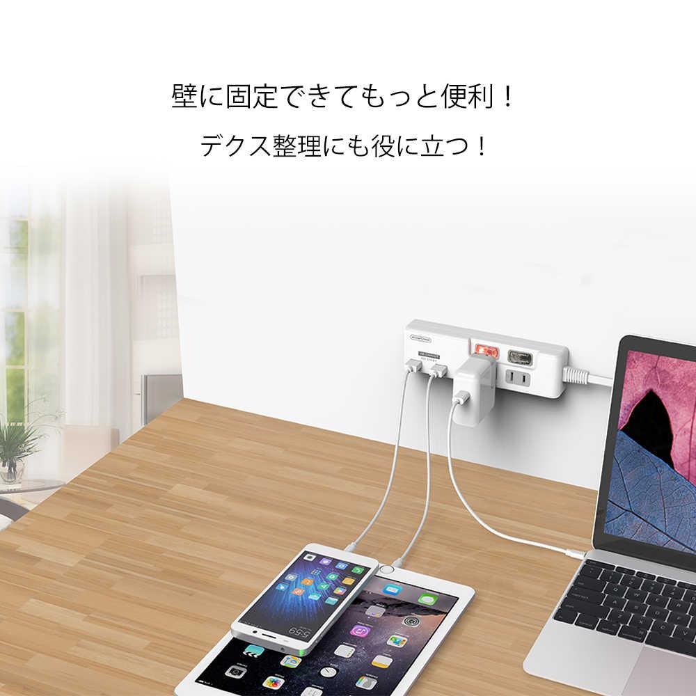 NTONPOWER japonia wtyczka zasilania z ładowarką USB 2 porty inteligentne ładowanie 2 gniazda AC wyłącznik indywidualny-przedłużacz 1.5M