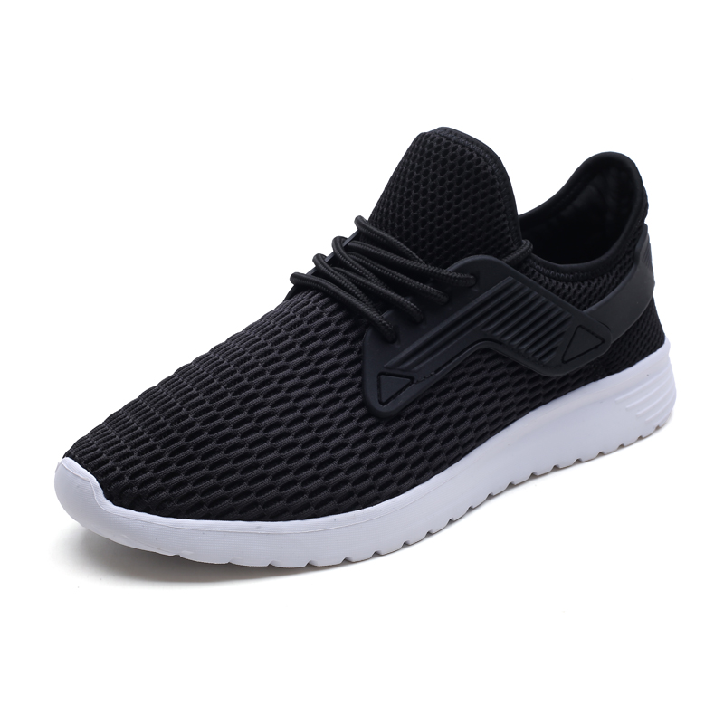 Summer Breathable Mesh Casual Shoes Men Fashion Sneakers Walking Gym Shoes Adult Male Jogging Light Shoes Big Size 2018 недорого