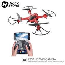 [EU USA Stock] Holy Stone HS200 Drone HD 720P Wifi FPV Camera Quadcopter APP Control 4GB Card Headless Mode RTF Helicopter