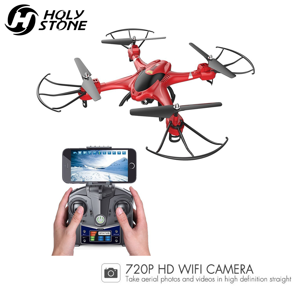 Holy Stone HS200 RC Drone HD 720P Wifi FPV Camera 6-Axis Gyro Quadcopter Headless Mode easy handling RTF Helicopter Drones gift 2017 new arrival jjrc h40wh wifi fpv with 720p hd camera altitude air land ground mode rc quadcopter car drones helicopter toys