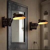 Ванная комната бра освещения Зеркало в Ванной Фронт Лампы ванная комната современные настенные бра Настенные прикроватные лампы Для Чтени