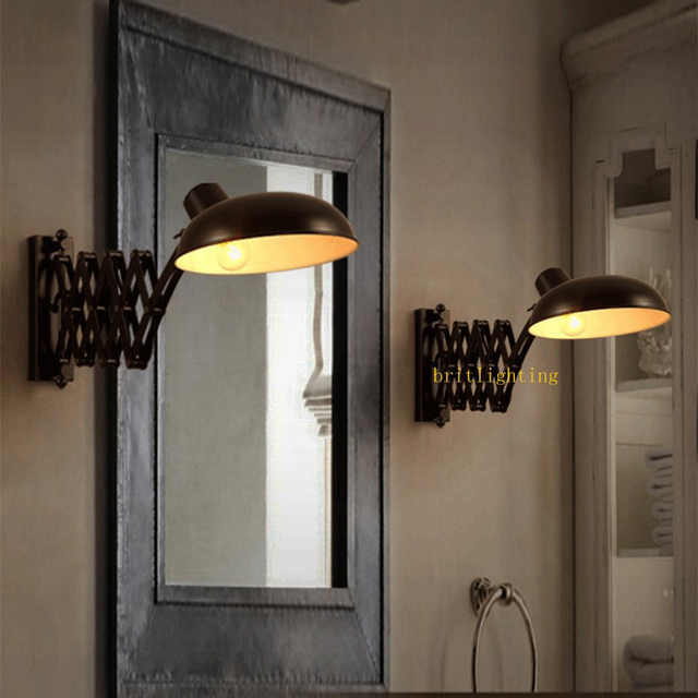 Bathroom Sconces Lighting Led Mirror Front Lamp Modern Wall Sconce Mounted Bedside Reading