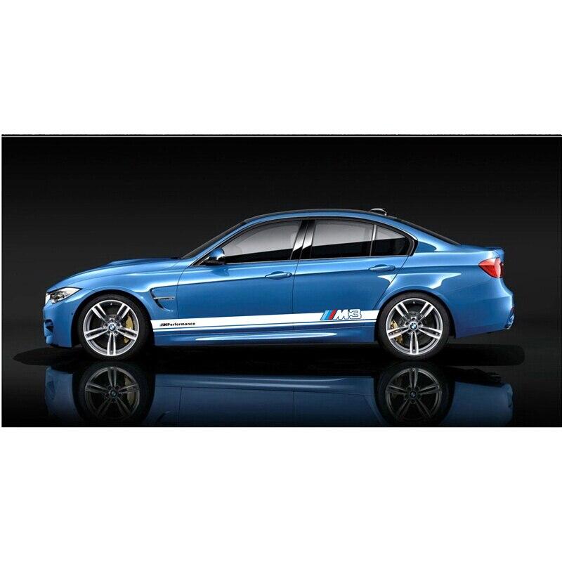 Monde Datong voiture style sport voiture autocollant pour BMW X1 X3 X5 voiture accessoires carrosserie sport stickers auto autocollants