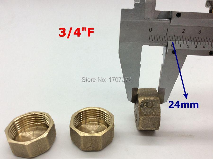 freies verschiffen 3 teilelos 34 innengewinde rohr sechskant messing stecker pneumatik hydraulik armaturen kupfer fitting kupfer stecker in freies - Kohler Armaturen Teile