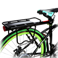 New Outdoor Bicycle Rear Racks 50 Kg Capacity Cargo Holder Rack Bike Touring Bag Carrier Adjustable