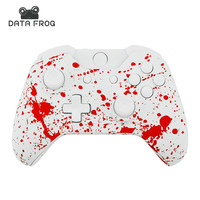 Replacement Controller Housing Shell Blood Red Splash Design Splatter For Xbox One Shell Mod Kit Buttons