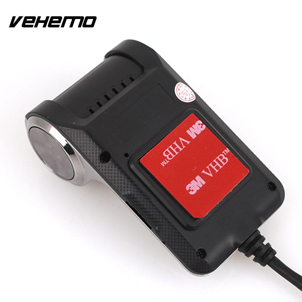 Vehemo Driving Recorder Car DVR Dash Cam with APK ADAS Durable Automobile Loop Recording Night Vision WIFI Universal