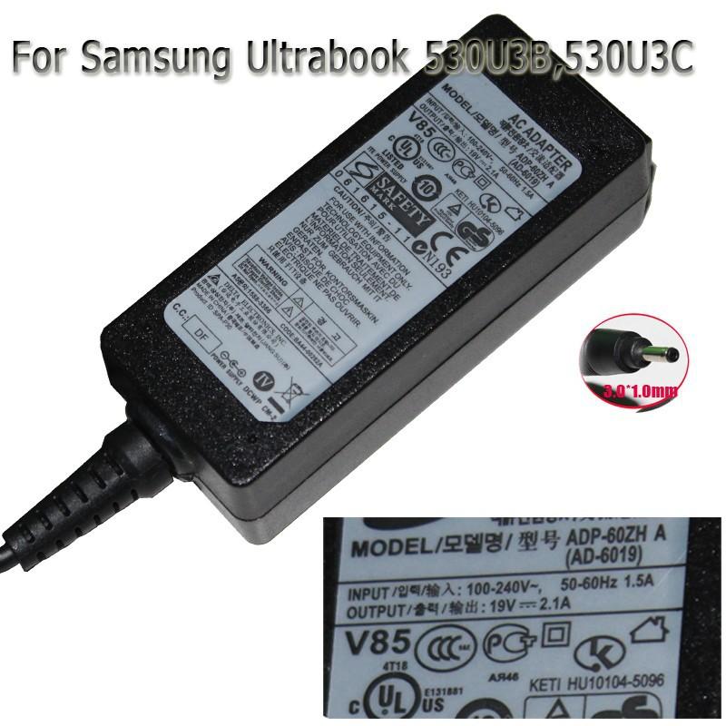 530U3B  530U3C ultrabook adapter for samsung 19V