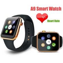 Neue Marke Smartwatch A9 Bluetooth Smart Uhr Für Apple IPhone Samsung Android Telefon Relogio Inteligente Reloj Smartphone Uhr