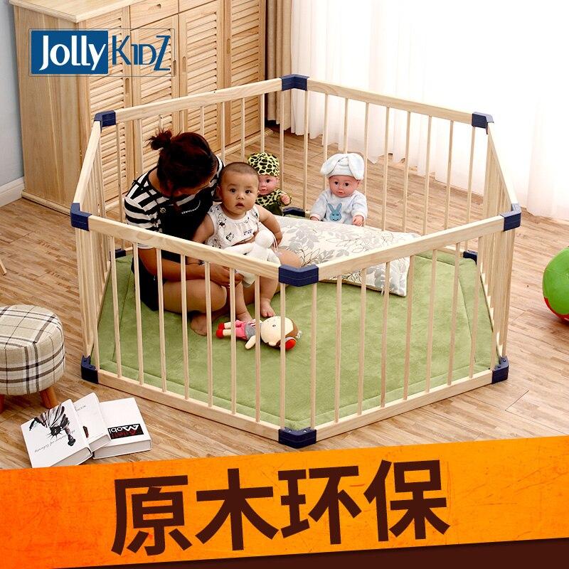 Твердой древесины ребенок детский манеж закрытый детский игры забор, ребенка ползать, малыша ребенка твердой древесины забор безопасности