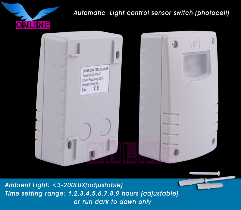 220V 240V/AC Ambient Light Adjustable Street Automatic Photocell Photo  Control Sensor Switch(1pc SZOL300) In Sensors From Electronic Components U0026  Supplies ...