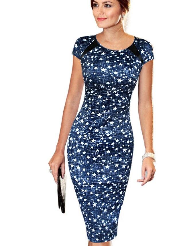 Женское платье vestidos лето распечатать сексуальный плюс размер работа бизнес спортивный партия оболочка es0100