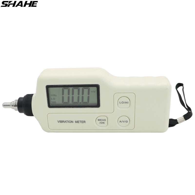 shahe Hight quality Vibration Meter Handheld Digital Vibration Tester Portable Vibrometer Analyzer Acceleration hight quality gm63a handheld portable led digital vibration sensor meter tester vibrometer analyzer acceleration without box