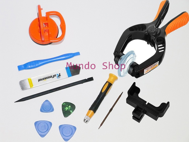 10 in 1 Pentalobe Screwdriver Disassembly Opening Pry Tool for iPhone 4s 5s 6s Plus Macbook Air Pro LCD Screen Suction Cup Plier