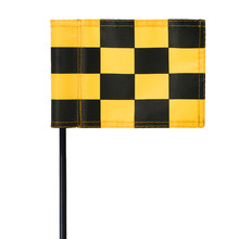 Golf Green Flag Practice Putting Training Green Flag Indoor Outdoor Golf Training Aids Color Checkered Golf Target Flags(China)