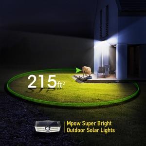 Image 4 - Mpow CD137 30 ไฟ LED พลังงานแสงอาทิตย์สวน Ipx7 กันน้ำพลังงานแสงอาทิตย์โคมไฟมุมกว้าง SOLAR Motion Sensor สำหรับ Pathway Garage/ สระว่ายน้ำ