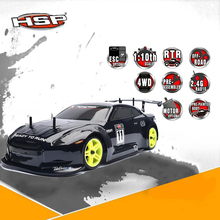 Original HSP 94122 Drift RC Racing Car 1:10 Scale Models 4wd Nitro Gas Power On Road Touring Hobby Remote Control Car