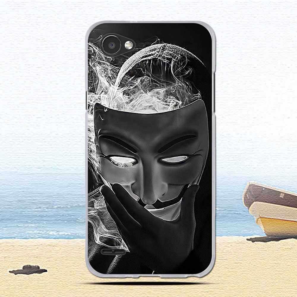 """رقيقة جدا لطيف حقيبة لجهاز LG الهاتف Q6 ألف ألفا Q6a Q 6 M700 فوندا كابا لينة سيليكون الغطاء الخلفي ل LG Q6 5.5 """"نمط غطاء"""