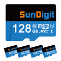 Wholesale Memory Micro SD Card 32GB Class 10 Memory Cards 128GB 64GB 16GB 8GB Microsd TF Card + Adqpter SunDigit Micro SDHC SDXC