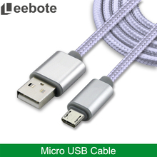Leebote Nylon Braided USB Cable Charging and Sync Usb data Cable for Apple iPhone 7 7 Plus 6 6S SE 5S 5S for Samsung HTC Xiaomi