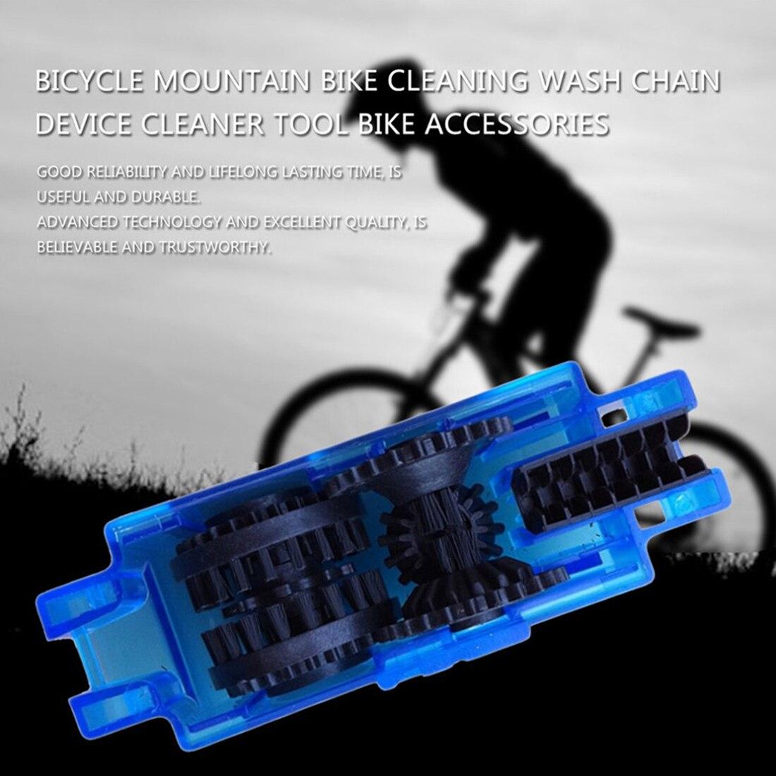Portable Bicycle Chain Cleaner Bike Clean Machine Brushes ...