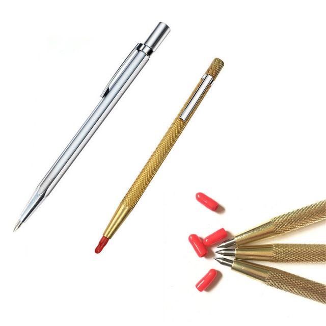 1PCS 2 Colors Tungsten Carbide Tip Scriber Etching Pen Carve Jewelry Engraver Metal Abrasive Tool Best Quality