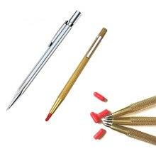 1Pcs 2 Kleuren Tungsten Carbide Tip Kraspen Etsen Pen Carve Sieraden Graveur Metalen Schurende Tool Beste Kwaliteit