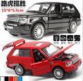 Сплав Металла Rover модель Автомобиля свет музыка ветра до мини-автомобиль 15 СМ длинные для детей