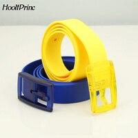 Silica Gel Belt Plastic Belt Candy Type Fashion Men And Women Lovers General Belt Defence Allergy Environmental Protection Belt