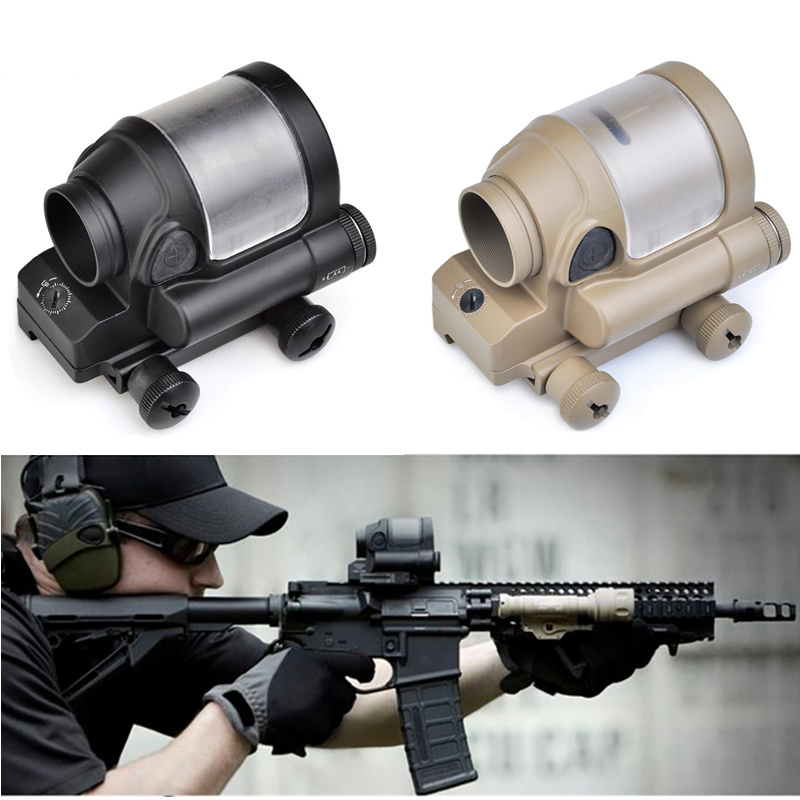 AIM SRS 1X38 Red Dot Sight NO Solar Cell Holographic Optical Riflescope Sniper Hunting Shooting Tactical