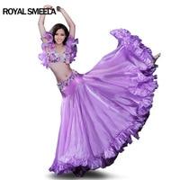 Hot Sale top grade belly dance set for women belly dance costume wear beaded Bra skirt Gorgeous stage Performance wear 8139