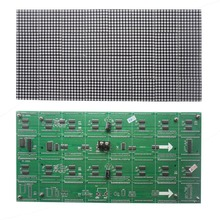 Factory direct sales 3.75 lattice module double color 304mm*152mm 64*32pixels 44321dots/m2