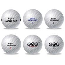 1 шт. мяч для гольфа бренд GOG and Supur Newling мячи для гольфа Supur большие расстояния Поддержка пользовательского логотипа