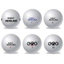 Balles de Golf, 1 pièce, GOG et Supur, nouveau, Support de longue Distance, Logo personnalisé
