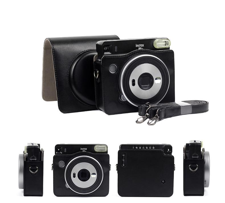 Caja De Cristal Cubierta Protectora Para Fujifilm Instax Cuadrado SQ6 cámara instantánea