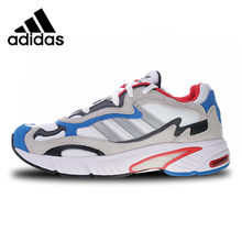 a0f5437671c Adidas Originals Temper Run Men s Sports Shoes White Gray Blue Red Running  Shoes F36313 40-45