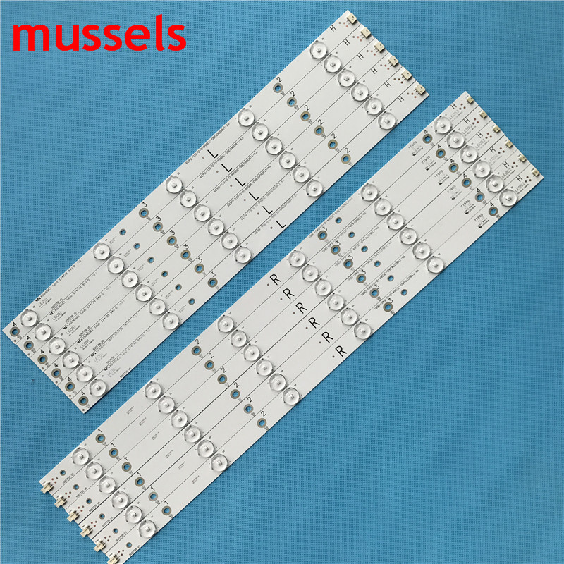 Image 2 - LED Backlight strip For 11lamp 1000mm YX 11800731B0 2E562 0 A 539+YX 11800732B0 2E562 0 A 539 TPT500DK QS1 TPT500UK DJ2QS5.N New-in Industrial Computer & Accessories from Computer & Office