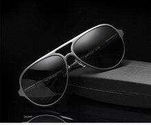 oculos de sol feminino Men and women high-grade aluminum magnesium polarizing sunglasses driving glasses oculos
