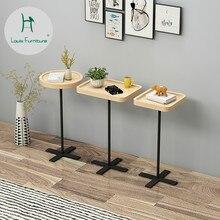 Луи Мода журнальные столики Скандинавская простая деревянная гостиная диван прикроватный