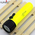 YUPARD Waterproof Underwater diver Diving Q5 LED Flashlight Torch Lamp white yellow light AA battery fishing camping hunting