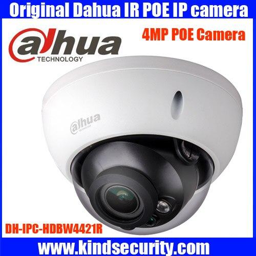 Original Dahua english Firmware 4MP IPC HDBW4421R AS IP network camera POE Micro SD storage dahua