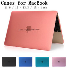 New Crystal/Matte Protector case cover for Apple Macbook Air Pro Retina 11 12 13 15 inch laptop Cases For Mac book bag