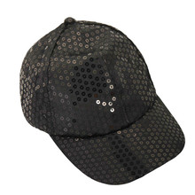 Casquillo sólido lentejuelas gorra de béisbol Unisex Gorras Para las mujeres  Casual Hip Hop Cap Snapback K Pop Gorras Para Hombr. c3705331c7c