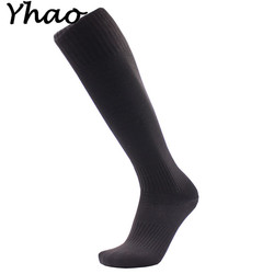Yhao six colors football soccer socks above knee plain socks long soccer stockings men over knee.jpg 250x250