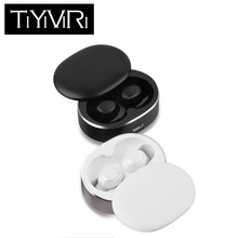 лучшая цена TWS 5.0 Mini Bluetooth Earphones Wireless Sports Headphones 3D Stereo Headset Noise Cancelling Earbuds With Microphone