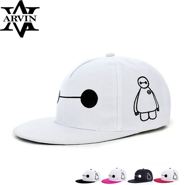 543c74a073e New Design Baseball caps Big Hero 6 Baymax Hip Hop caps